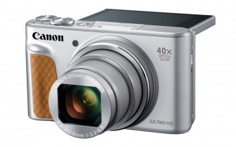 Canon launches new PowerShot SX740 HS pocket camera with 40x zoom