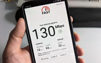 FAST.com speed test now displays latency and upload speeds