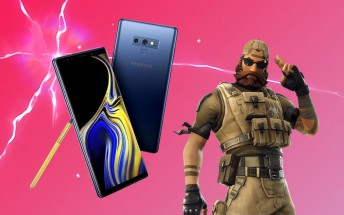 Fortnite's Android version may be exclusive to the Samsung Galaxy Note9 for a month
