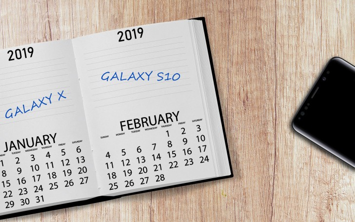 Samsung could unveil the foldable Galaxy X at CES, Galaxy S10 at the MWC