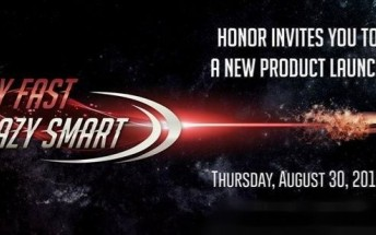 Honor to announce a new device on August 30, could be the Honor Note 10