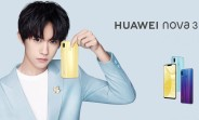 Huawei Nova 3 arrives with Kirin 970, 4 cameras