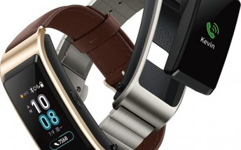 Huawei TalkBand B5 leaks in press render