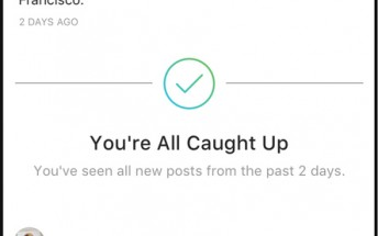 """Instagram introduces """"you're all caught up"""" feature"""