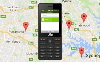 Reliance JioPhone gets Google Maps with the latest firmware update