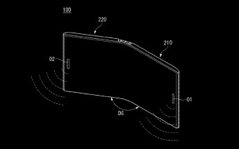 LG patent suggests a foldable phone is in the works