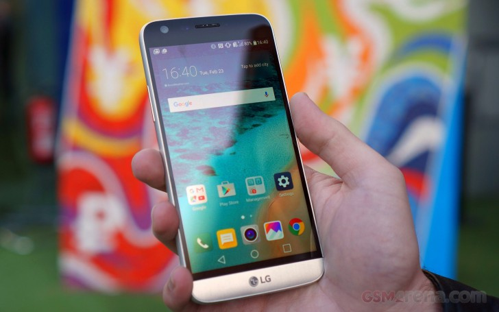 LG G5 and LG V20's Android Oreo update incoming