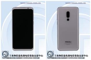 Meizu 16 Plus and Meizu 16 TENAA renders