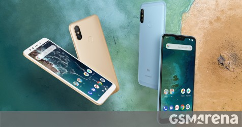 Xiaomi Mi A2 And Mi A2 Lite Official Coming To Europe Later This Month Gsmarena Com News