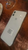 Motorola One in white
