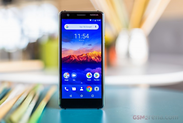 Nokia 3.1 in for review