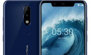 Leaked Nokia X5 press renders reveal wide notch