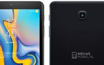 First render of Galaxy Tab A 8.0 (2018) shows trimmed bezels