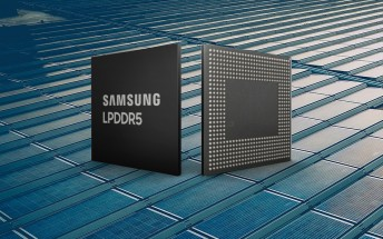 Samsung unveils 8 gigabit LPDDR5 RAM chips for next-gen phones