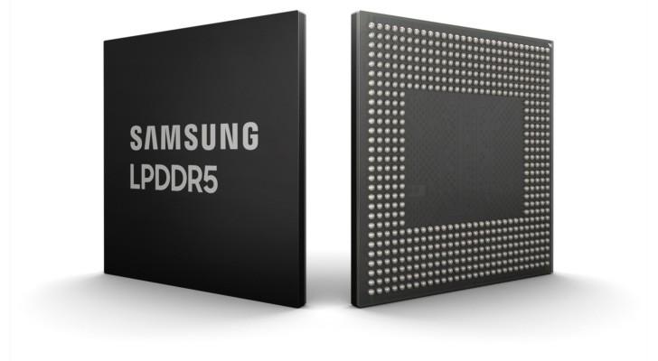 Samsung unveils 8 gigabin LPDDR5 RAM chips for next-gen phones