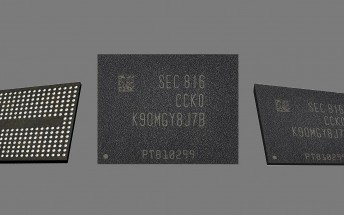 Samsung starts mass production of 5th-gen V-NAND flash memory