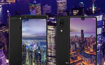 Sharp unveils Aquos C10 and B10: Android mid-rangers with dual cameras