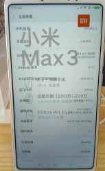 Xiaomi Mi Max 3 live image