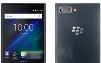 BlackBerry Key2 LE press renders leak