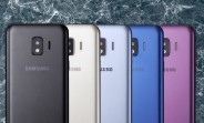 Render reveals the Samsung Galaxy J2 Core color options
