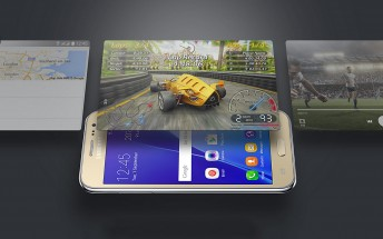 Samsung Galaxy J2 Core manual shows a customized Android Go phone