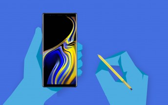 The Samsung Galaxy Note9 story told through infographics
