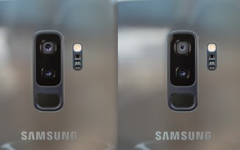 Samsung Galaxy Note9 handled on video, Galaxy S9+'s camera setup confirmed