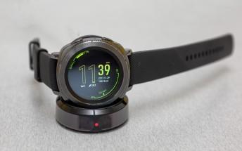 Samsung Gear Sport update improves charging