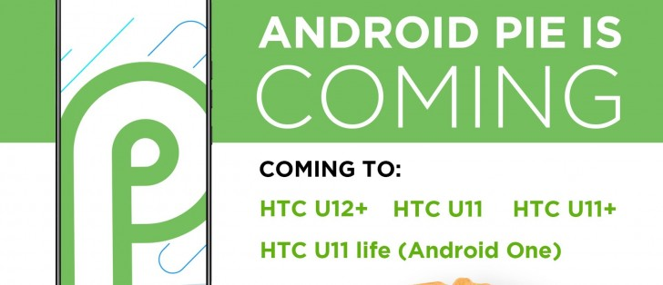 HTC confirms Android 9 0 Pie update for 4 of its phones - GSMArena