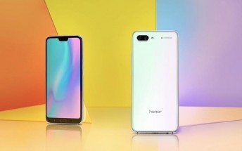 Huawei introduces Lily White Honor 10 GT