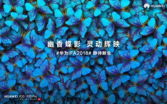 Huawei to introduce two new color variants of the P20 and P20 Pro