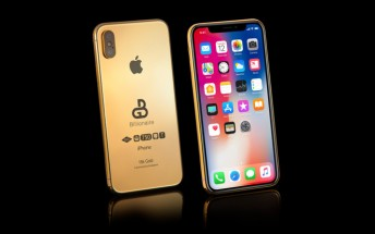 Gold-plated 2018 iPhone is up for pre-order, will set you back £100,000