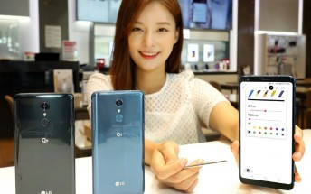 """LG announces the Q8 (2018) with 6.2"""" screen and stylus"""