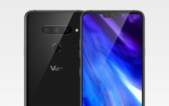 LG V40 ThinQ new CAD renders reveal the notch