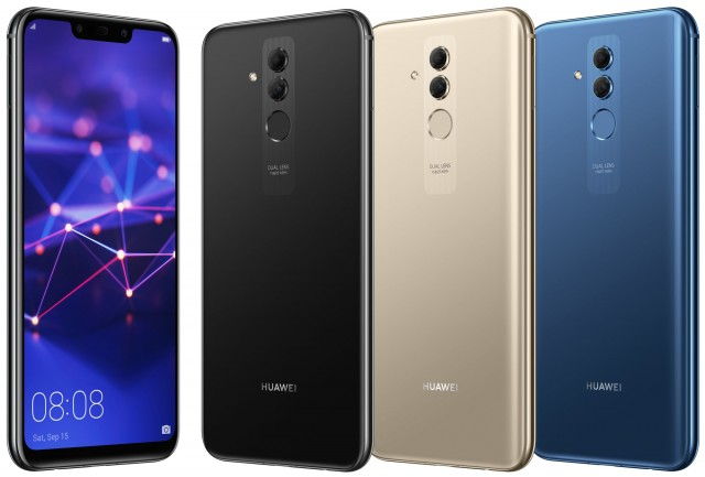 Huawei Mate 20 Lite color selection