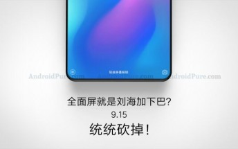 Xiaomi Mi Mix 3 could come on September 15 with no chin