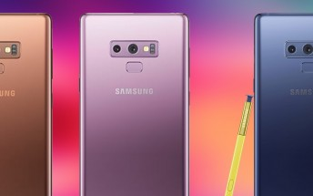 New renders of Samsung Galaxy Note9 show the Metallic Copper variant