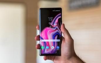 Samsung Galaxy Note9 gets its first OTA update