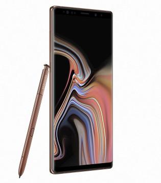 Samsung Galaxy Note9 in Metallic Copper