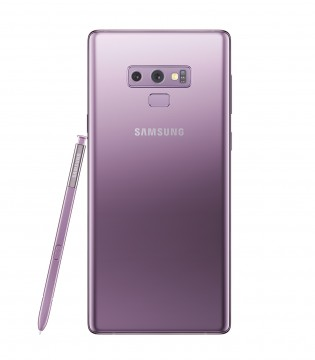 Samsung Galaxy Note9 in Lilac Purple