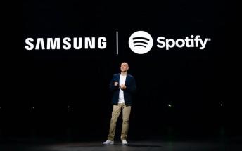 Samsung makes Spotify its go-to music platform
