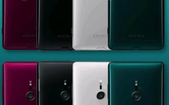 Sony Xperia XZ3 press renders leak ahead of announcement