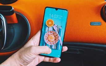 vivo X23 photographed in the wild again, looks like the vivo V11 Pro