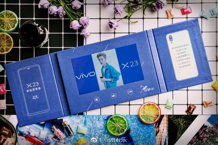 The vivo X23's dual camera will have a wide-angle lens