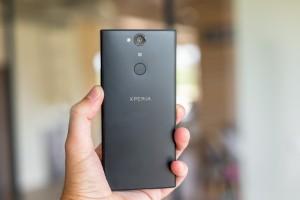 The Xperia XA2 Plus is more compact than the Xperia XA2 Ultra