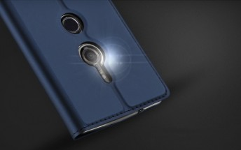 Cases for Sony Xperia XZ3 show single camera on the rear