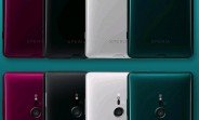Four Sony Xperia XZ3 color options leak before announcement