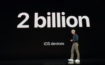 Apple close to shipping the 2 billionth iOS device