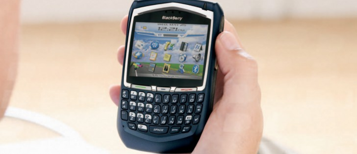 Counterclockwise: BlackBerry, the king of keyboards, was
