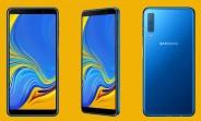 Samsung Galaxy A7 (2018) announced - triple camera and Super AMOLED display